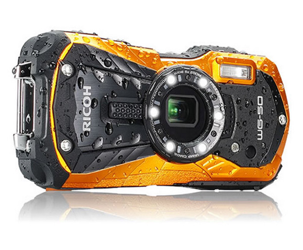 Ricoh-WG-50-waterproof-shockproof-camera