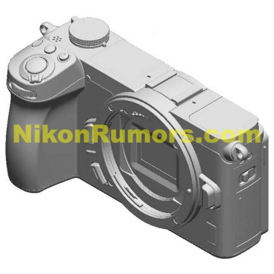Nikon-APS-C-mirrorless-camera-design-patent-large-model-1-550x550